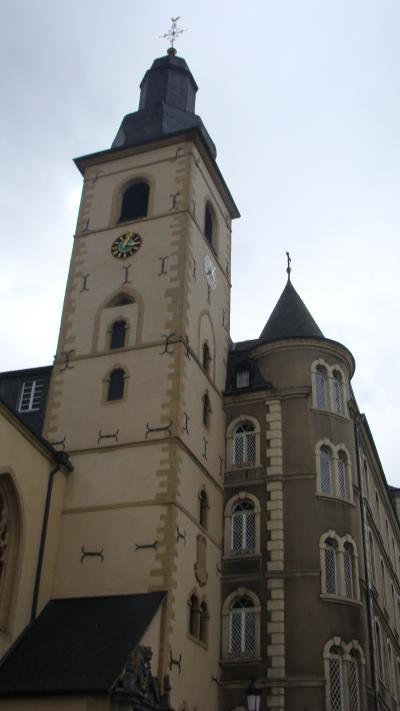 世界遺産 ルクセンブルグ聖ミカエル教会