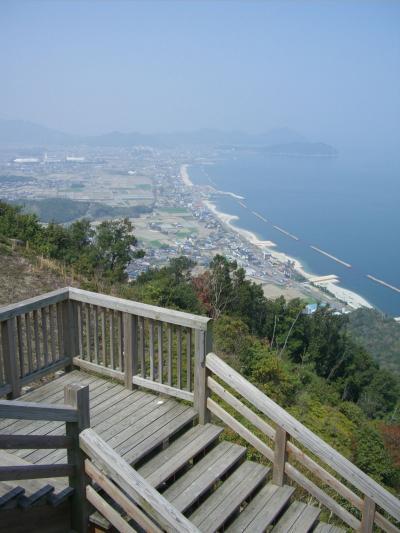 大 坂 峠 展 望 台