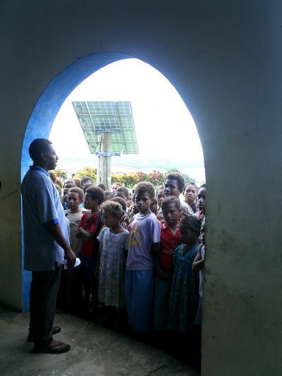 2008 バヌアツ マレクラ島 小学校訪問