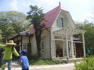 サツキとメイの家(愛・地球博記念公園)とドラゴンズ応援