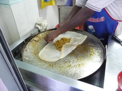 チキンムタバ(食べ物)