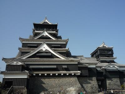 九州旅行:菊池温泉に癒され♪ ~熊本城へ・・