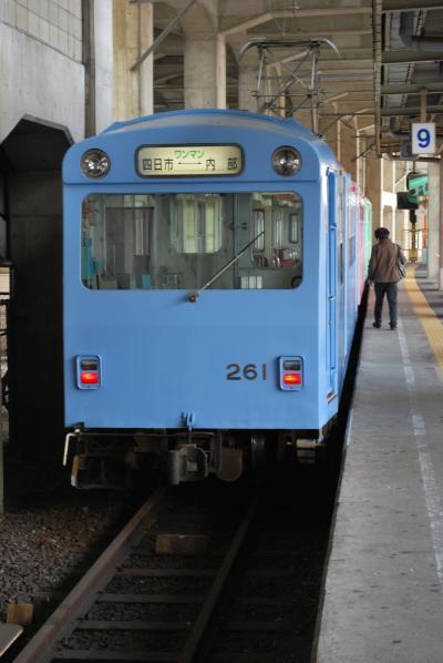2009.4名古屋出張旅行2-狭軌の近鉄内部線