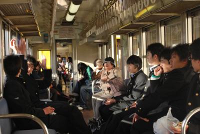 2009.4名古屋出張旅行4-三岐鉄道北勢線も狭軌だ!