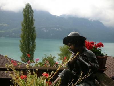 スイス10日間の旅、8日目午前 ロートホルン鉄道