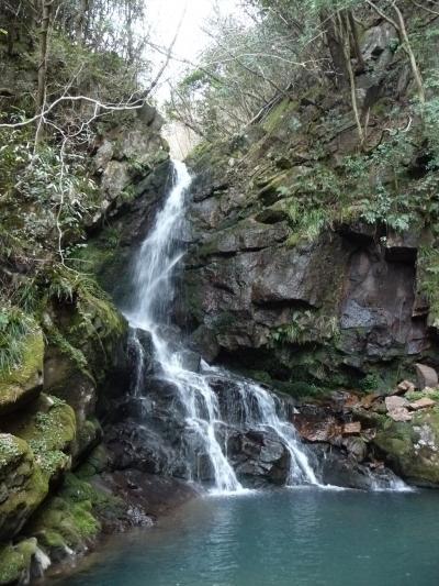 滝紀行◆美杉村の山中にひっそりと『日神大滝』(三重県津市)