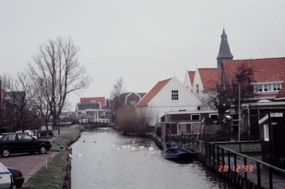 '93 放浪 真冬のマルケンとアムステルダム