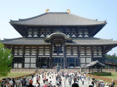 聖武天皇の開眼供養から1257年の東大寺