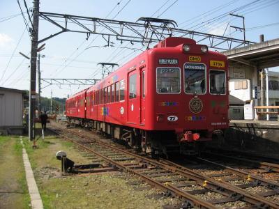 2009年3月 和歌山電鉄でGo!