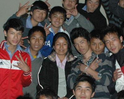 チベット子供村2009訪問写真