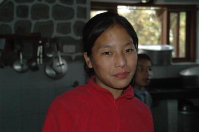 チベット子供村2009訪問写真2