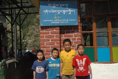 チベット子供村2009ホーム訪問写真