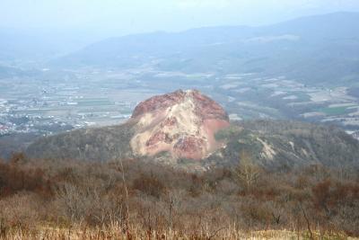 2009.5 目指すはマッターホルン!PART?…有珠山から先週登った昭和新山を見る!