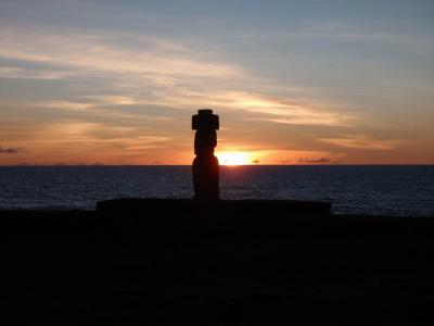 チリ、イースター島へモアイ像に会いに行ってきました!!
