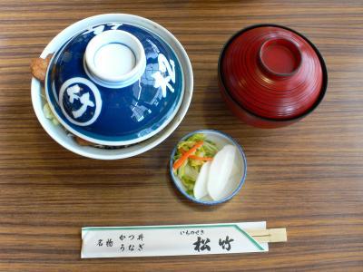 日本全国ソースカツ丼行脚?一ノ関「松竹」。