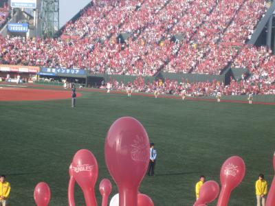 【宮 城】Loppiグループシート5で野球観戦