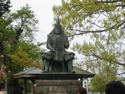 天地人紀行・米沢編(米沢城址・上杉神社・松岬神社)
