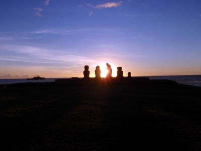 チリ、イースター島へモアイ像に会いに行ってきました!!No.2