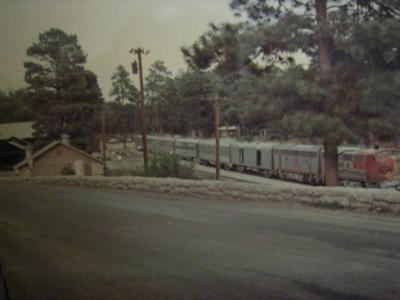 アメリカー1 グランドキャニオン・サンタフェ鉄道