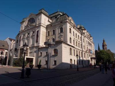 コシツェ、スロヴァキア東部の街