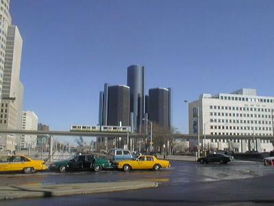 冬のデトロイト