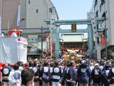 神田祭②(神輿宮入)