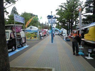 神奈川県川崎市 移動販売クレープ ケータリングカー出店 等々力競技場