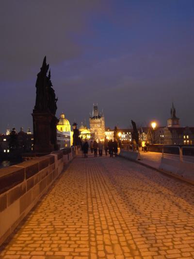 3月のプラハ