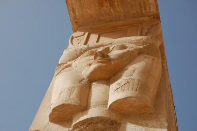 ファラオに会いたくて エジプト? ルクソール (やっと会えたね 1一人目)
