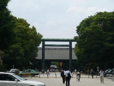 靖国神社6回目・初めての昇殿参拝