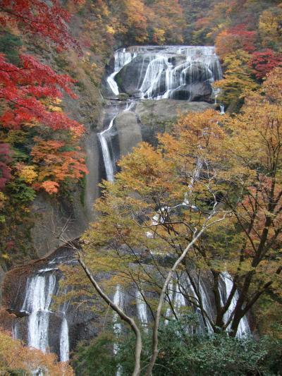 2008年11月,茨城県,袋田の滝へ