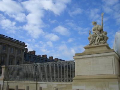 初めてのヨーロッパ~快晴のヴェルサイユ宮殿~