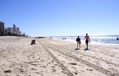 Day 1 / なぜか、Gold Coast
