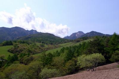 美し森から天女山へ