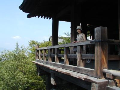 2001年8月 京都・神戸の旅 2日目 東本願寺、清水寺など
