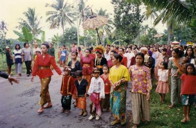 バリ、ロンボク旅行記(2) ランダンナンカ村の結婚式