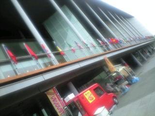 東京都江東区 移動販売クレープ、ケバブ ケータリングカー出店 国際交流館