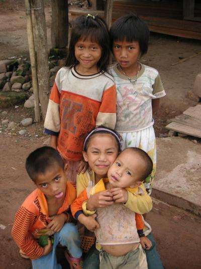 北タイ、ラオス紀行2009.5 ルアンナムターの少数民族