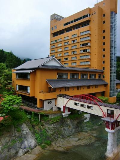 湯瀬ホテル100周年記念でした