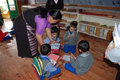 チベット子どもの村の小学校