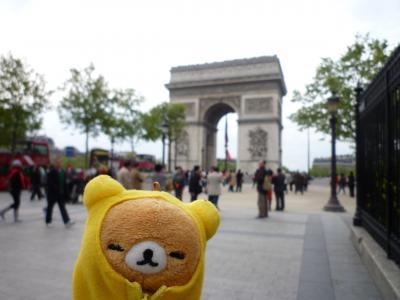 ファーストクラスで世界一周の旅 2日目【パリ2日目】(2009.4.26)