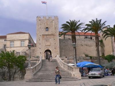 2009年5月・クロアチア再訪・コルチェラ島