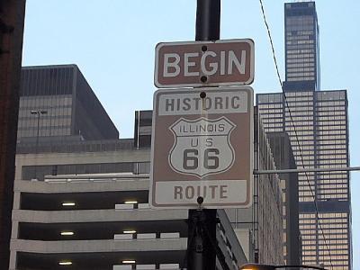 「ルート66」(2009年GW)。。。その4「シカゴを出発」