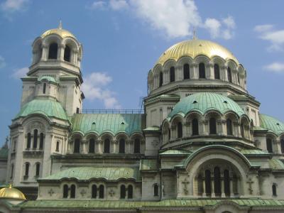 2008年ブルガリア旅行第14日目ソフィア(1)午前中の観光エリア東半分の撮影散策