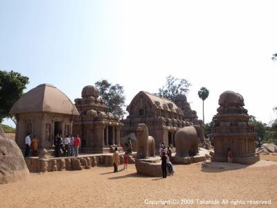 マハーバリプラム(Mahabalipuram)