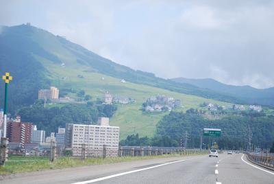 新潟・塩沢石打サービスエリア付近から見られる風景