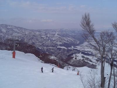 スノーボード(2008-2009シーズン 4回目)@石打丸山 1泊2日