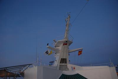 2008年夏ヨーロッパ旅行 WITH ロイヤルカリビアン(ボイジャーオブザシーズ) その8 悪夢の終日クルーズ