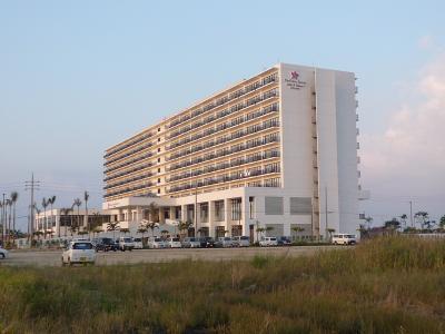 はじめて行く沖縄 2泊3日 2日目のお宿はぴかぴかです