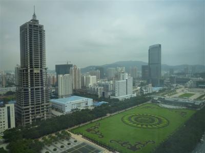 中国 広州の街並み